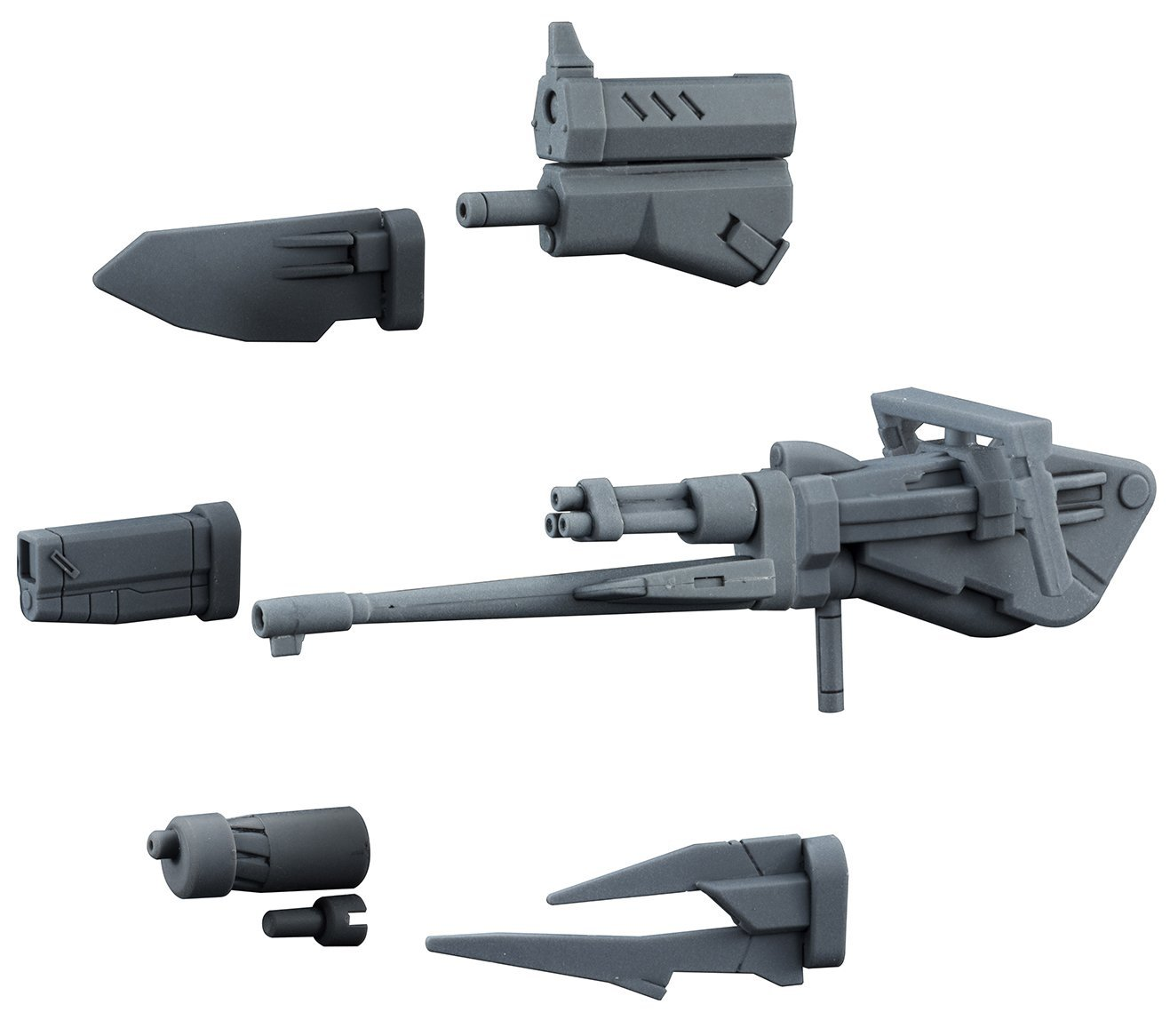 Gundam Build Divers Changeling Rifle 1 144 Scale Model Kit Accessories by
