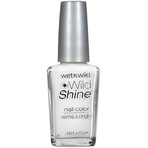 Wet n Wild Wild Shine Nail Polish, 449C French White CrËme, 0.43 fl oz