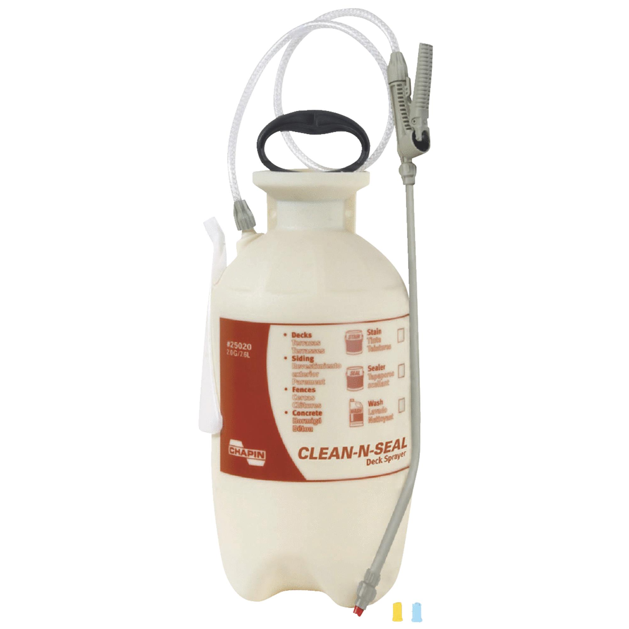 Chapin 25020 2-Gallon Clean N Seal Poly Deck, Fence and Patio Sprayer by Chapin Sprayers