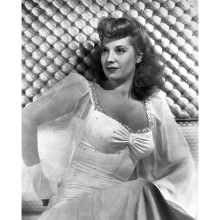 Dinah Shore Posed in See through Blazer Photo Print