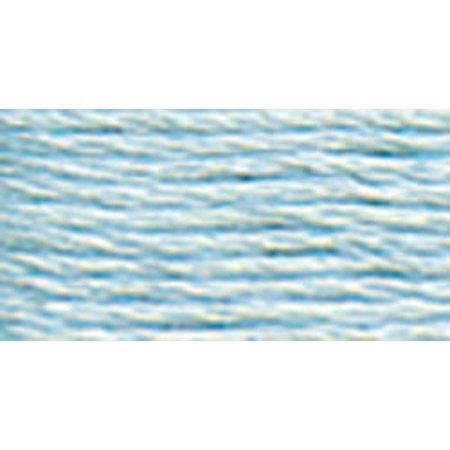 Thread Very Light - DMC Pearl Cotton Skein Size 5 27.3yd-Ultra Very Light Blue