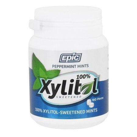 Epic Dental Mints - Spearmint Xylitol Bottle - 180 -