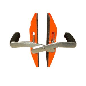 Abaco ACC40 Double Handed Glass or Stone Carrying Clamp - Pair