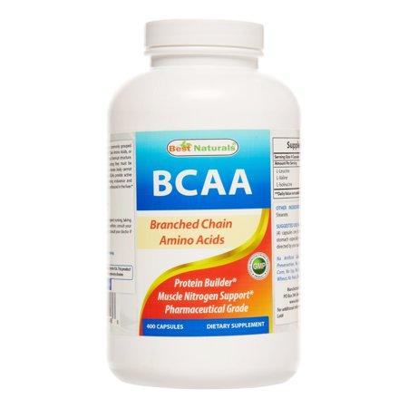 Best Naturals BCAA Capsules, 400 Ct