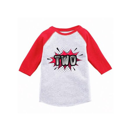 Awkward Styles Second Birthday Raglan Shirt For Toddlers Baseball Tee 2 Years Old Kids Toddler