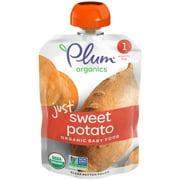 Plum Organics Stage 1 Organic Baby Food, Sweet Potato Puree, 3 Ounce Pouch