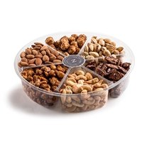 The Nuttery Deluxe Roasted Nuts Gift Basket, 6-Section