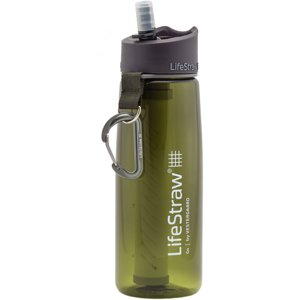 LifeStraw Go Water Bottle with 2-Stage Filtration, Green