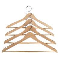 Proman Kascade Hanger with Notch On Shoulder - Natural