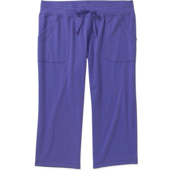 8f99baddd8a Danskin Now - Danskin Now Women s Plus-Size French Terry Capri Pants ...