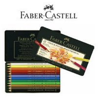 FABER-CASTELL USA 110266 POLYCHROMOS ARTIST COLORED PENCIL PERMANENT GREEN