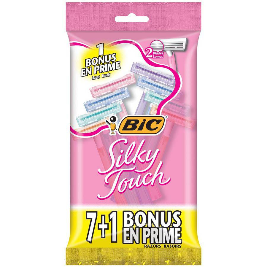 Bic Silky Touch Women���s Disposable Razors, 8 count
