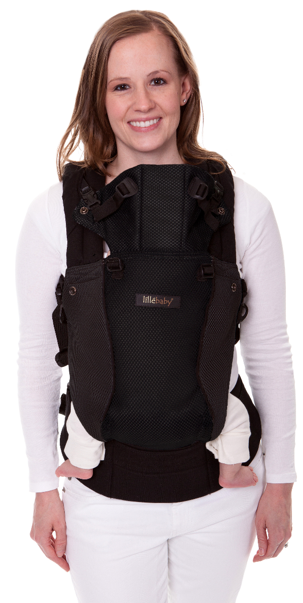 LILLEbaby Airflow Baby Carrier Black by lillebaby