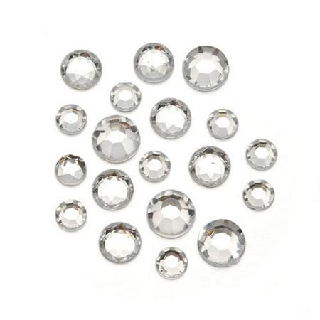 Rhinestone Round Clear 8 10 11Mm 1Lb Clear Bead Rhinestone Bracelet