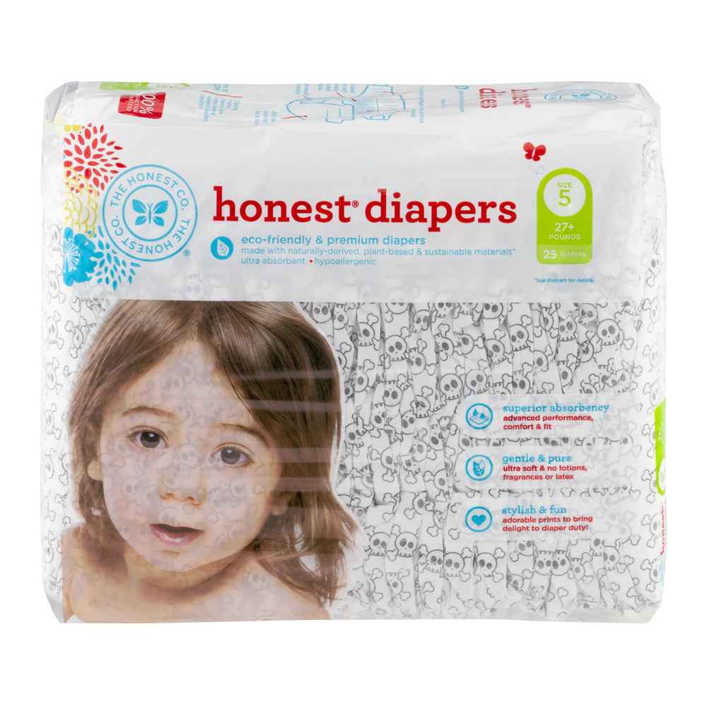 The Honest Co. Honest Diapers Size 5 - 25 CT