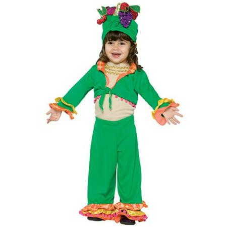 Toddler Carmen Miranda Costume - Carmen Miranda Costumes