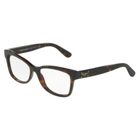 DOLCE & GABBANA Eyeglasses DG3254 502 Havana (Dolce Gabbana Prescription Glasses)