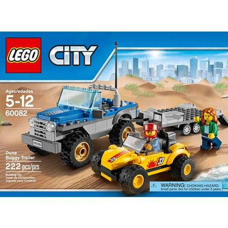 Lego City Great Vehicles Dune Buggy Trailer Walmartcom