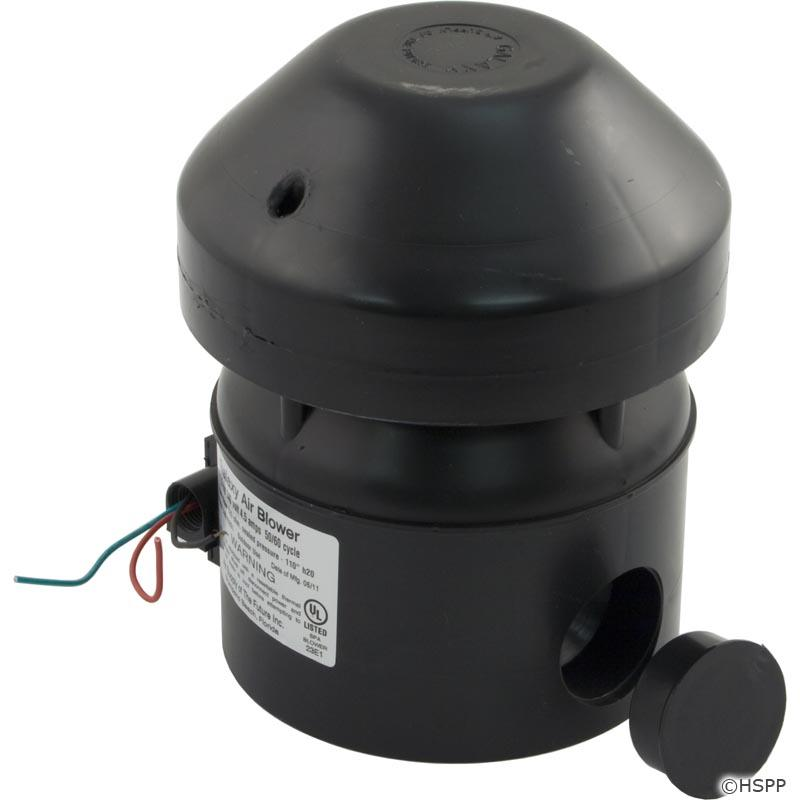 Blower, Air Supply Galaxy Supreme, 1.5hp, 230v, 4.5A, Hardwire