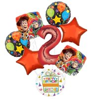 Toy Story 2nd Birthday Party Supplies Balloon Bouquet Decorations