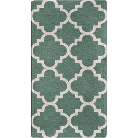 Better Homes And Gardens Flatweave Tile Trellis Rug Blue