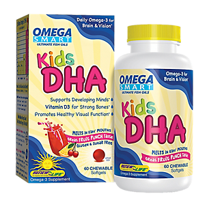 Kids Dha Omega Smart By Renew Life   60 Chewables