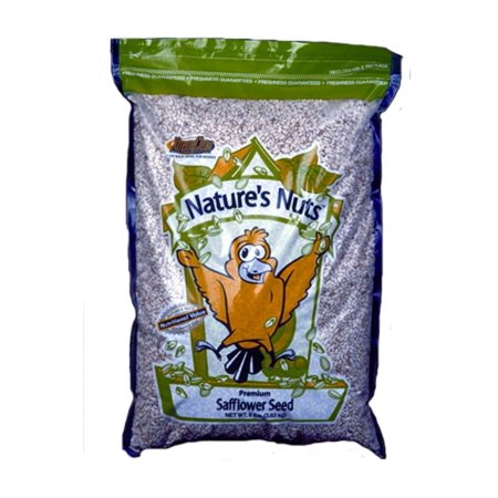 Autumn Food Chuckanut Natures Nuts Premium Safflower Seed Backyard Feeders 8 lb