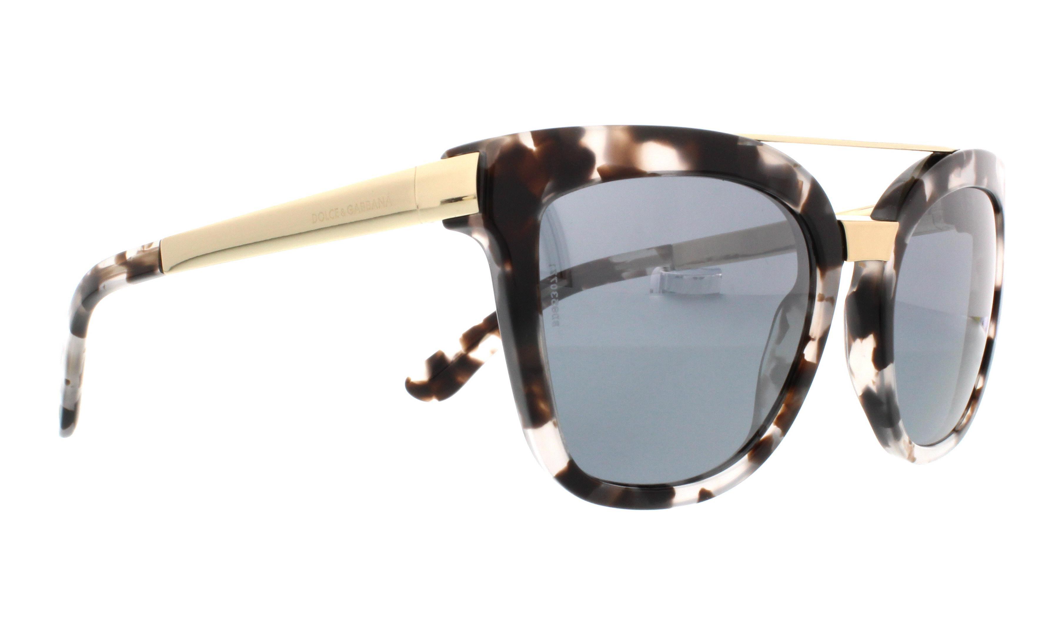 3b737a017c3 DOLCE   GABBANA - DOLCE   GABBANA Sunglasses DG 4269 28886G Cube Havana Fog  54MM - Walmart.com