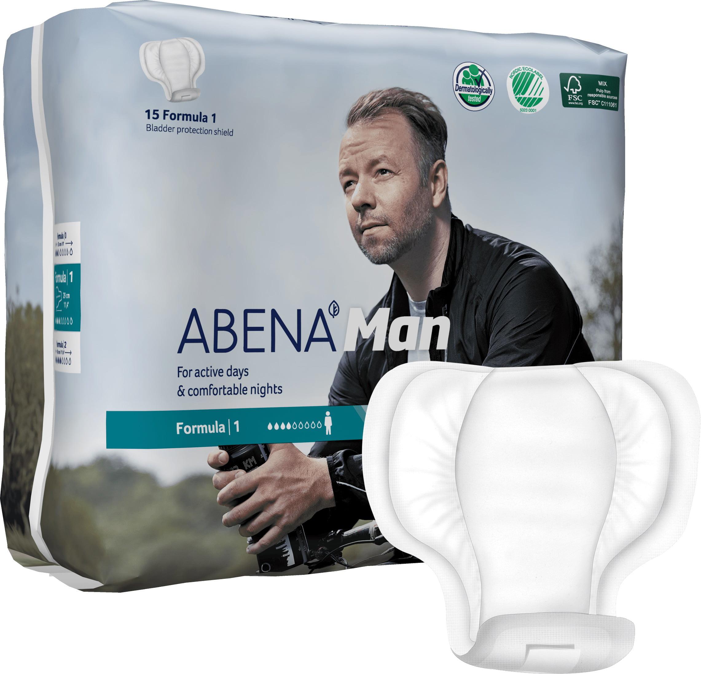 Abena Man Premium Incontinence Guard, Formula 1, 12 Count