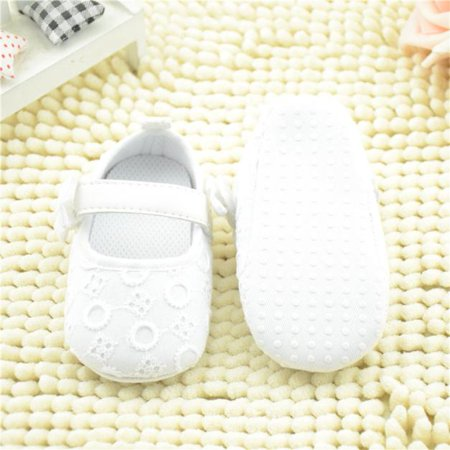 2019 Baby fashion Embroidered Shoes Bowknot Toddler Soft Sole Shoes