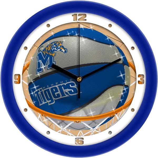 Memphis Slam Dunk Wall Clock