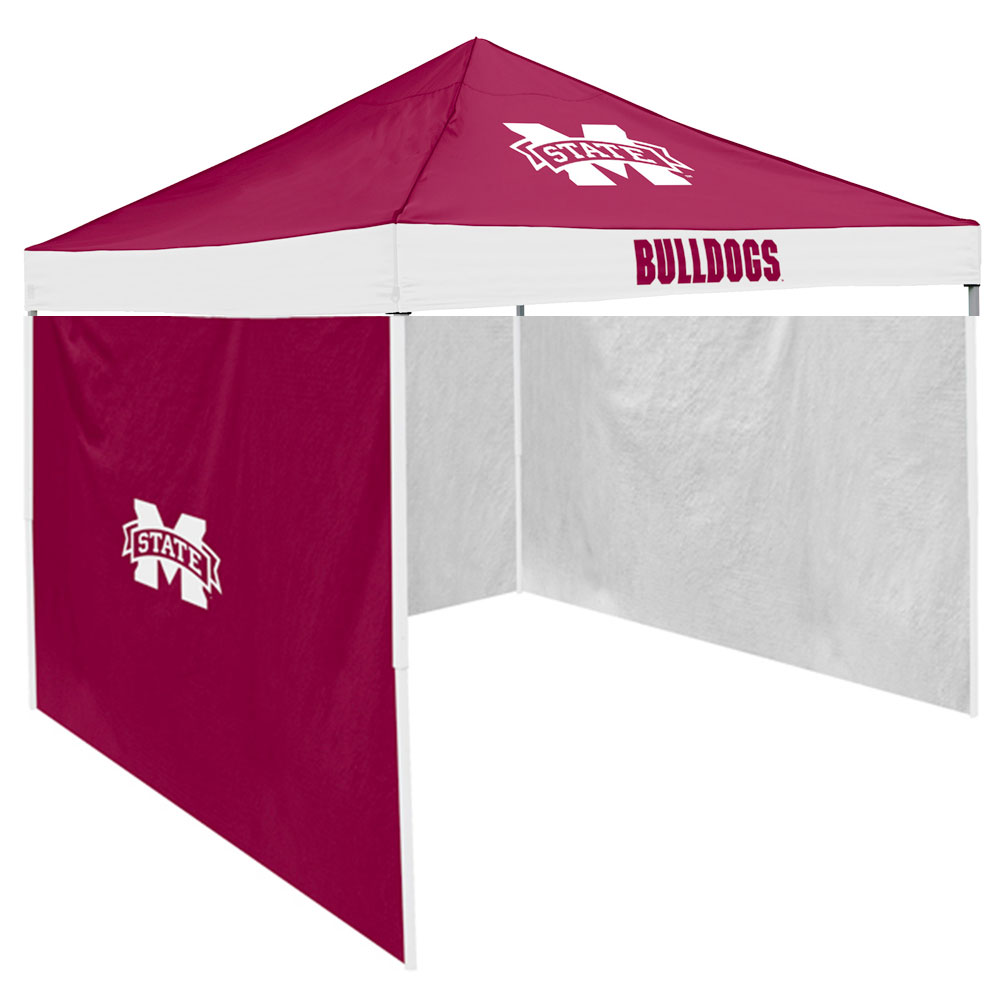 Mississippi State Bulldogs NCAA 9' x 9' Economy 2 Logo Pop-Up Canopy Tailgate