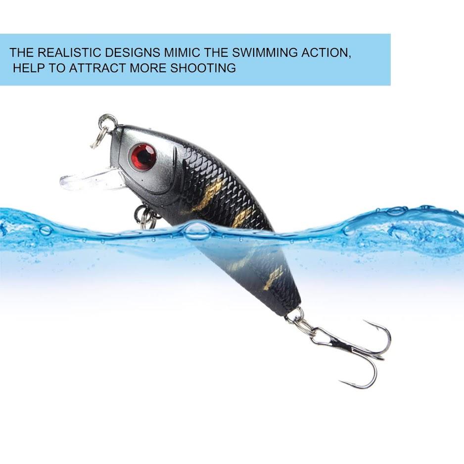 4.5CM//4g Jerkbait Professional Fishing Lures Artificial Bait Fishing RE