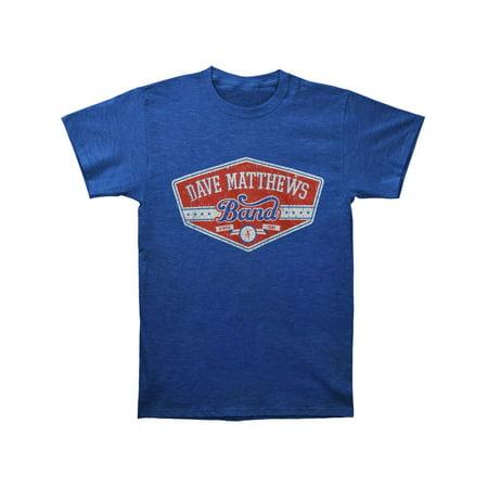 Dave Matthews Band Men's  East Side Slim Fit T-shirt Royal