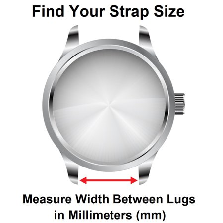 StrapsCo Heavy Duty Men's Carbon Fiber Leather Watch Band - Quick Release Strap - 20mm 22mm 24mm 26mm - image 4 of 5