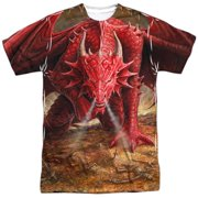 Anne Stokes - Dragons Lair (Front/Back Print) - Short Sleeve Shirt - Large