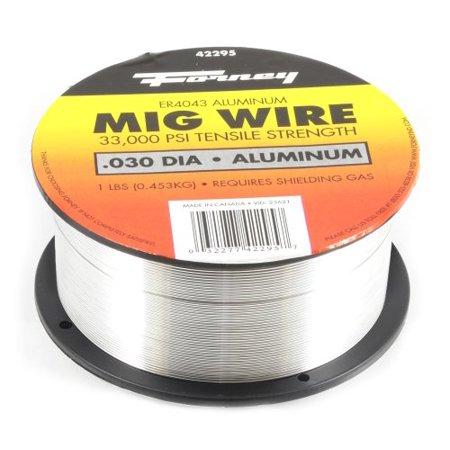 FORNEY WELDING 42295 030 In Er4043 Aluminum Mig Welding Wire 1 Lbs