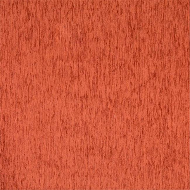 Designer Fabrics F881 54 in. Wide Orange, Textured Solid Chenille Upholstery Fabric