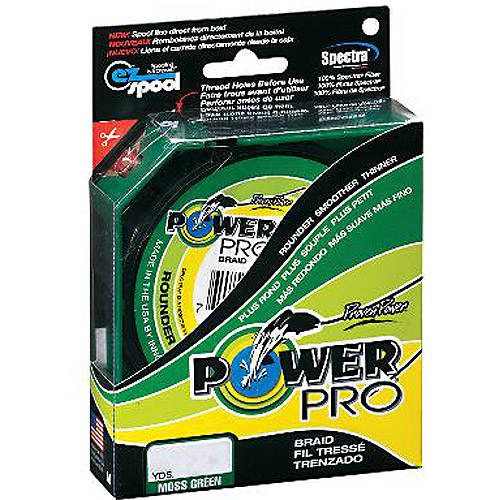 PowerPro Braided 500 yd Fishing Line, Green