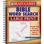 Brain Games Bible Word Search Large Print (Other)
