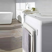 LAFGUR Magnetic Double Bath Towel Bar Towel Holder Rack for Bathroom Kitchen, Double Bath Towel Bar,Towel Bar