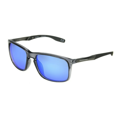 Panama Jack Men's Black Mirrored Retro Sunglasses OO12 - Black Retro Sunglasses