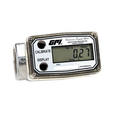 One Ind Graphics - Great Plains Ind 113900-9501 Fuel Meter, 30 to 30-Gal. - Quantity 1