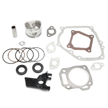Carburetor Piston - Carburetor Rebuild Kit for Honda GX160 GX200 5.5HP 6.5HP Piston Rings Gaskets & Insulator Repair Kit