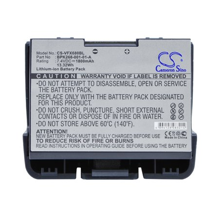 Wireless Credit Card Terminal - Cameron Sino 1800mAh Battery for VeriFone VX680, VX680 wireless terminal, vx680 wireless credit card machine