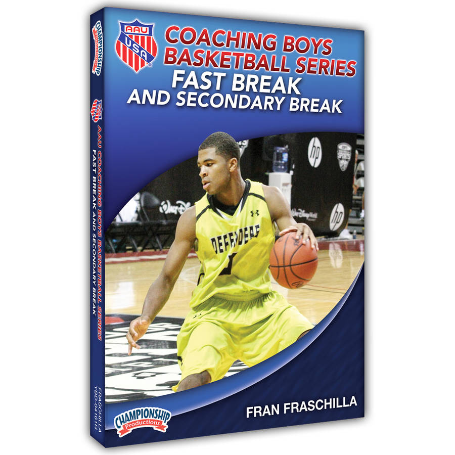 AAU Coaching Boys Basketball Series: Fast Break and Secondary Break by Championship Productions