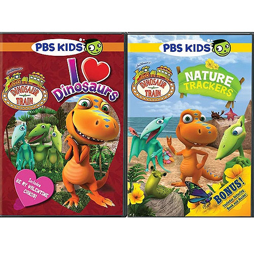 Dinosaur Train 2-Pack: I Love Dinosaurs / Nature Trackers (Walmart Exclusive) (Full Frame)