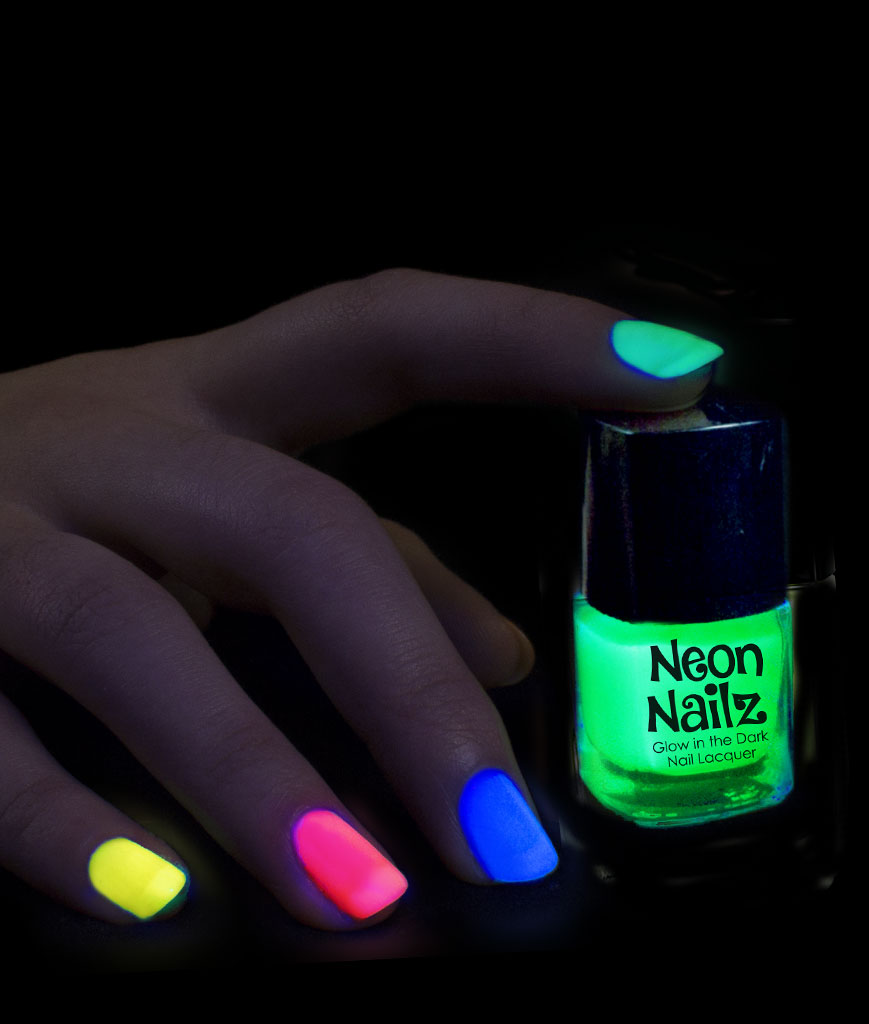 Glow in the Dark Nail Polish - Assorted - Walmart.com