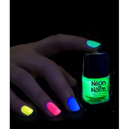 Glow in the Dark Nail Polish - Assorted - Walmart.com