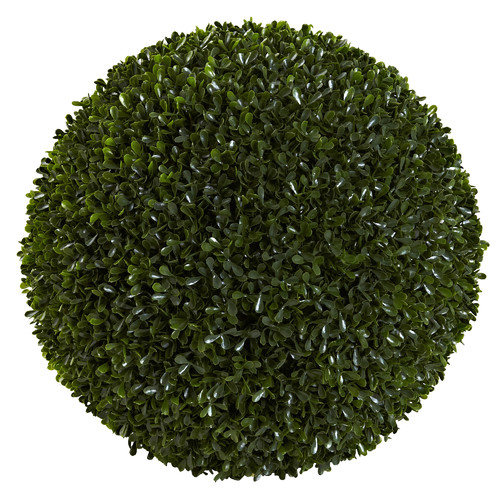 Nearly Natural Boxwood Ball
